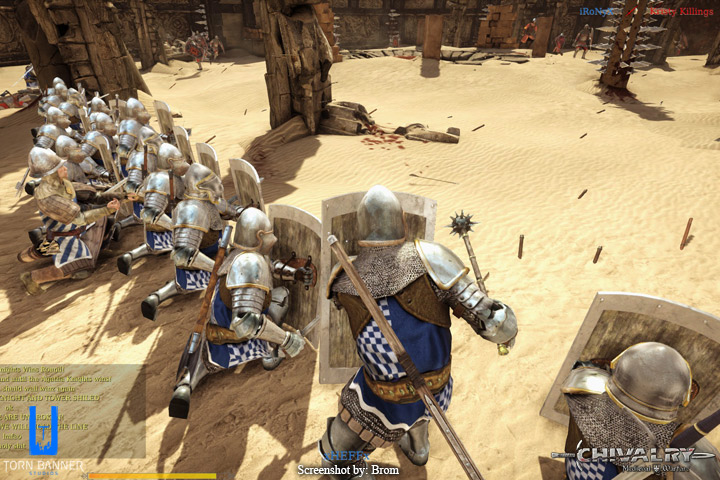 Screenshot of Chivalry, by Torn Banner Studios
